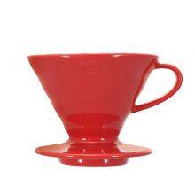 دریپر سرامیکی V60  سایز 02 هریو – قرمز    V60 Coffee Dripper 02 Ceramic / Red