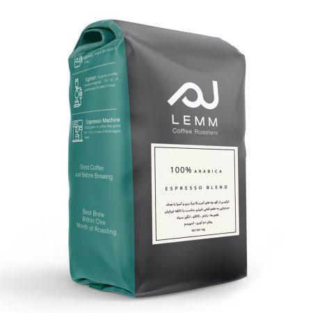 قهوه ترکیبی اسپرسو بِلند برشته کاری لم –1 کیلوگرم