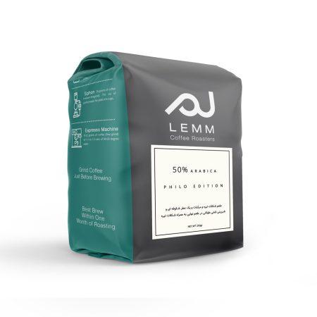 قهوه ترکیبی 50% عربیکا برشته کاری لم
