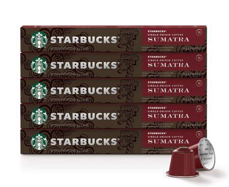 کپسول قهوه استارباکس SUMATRA