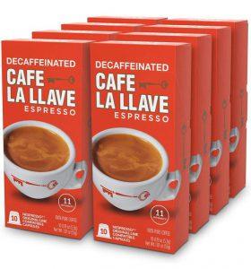 کپسول های قهوه بدون کافئین Cafe La Llave