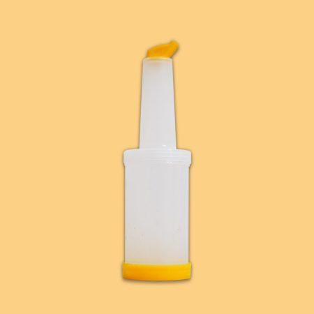 بطری آبمیوه بار زرد