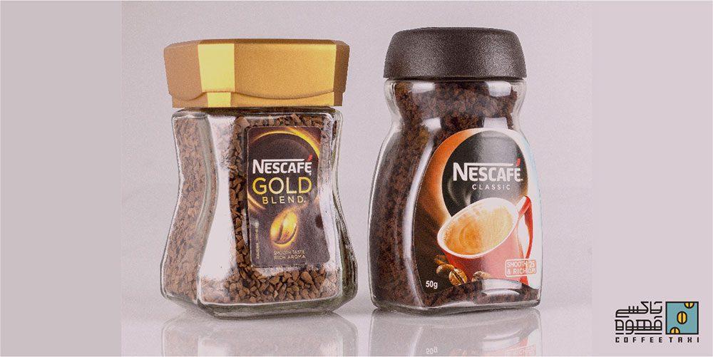 قهوه فوری گلد