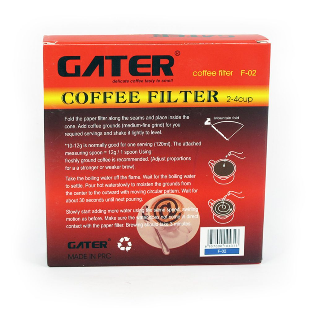 فیلتر دریپر کاغذی کرافت گتر سایز 02