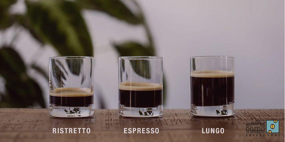 نسبت دم آوری قهوه