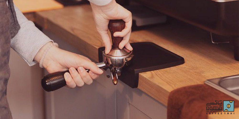 تمپ قهوه اسپرسو