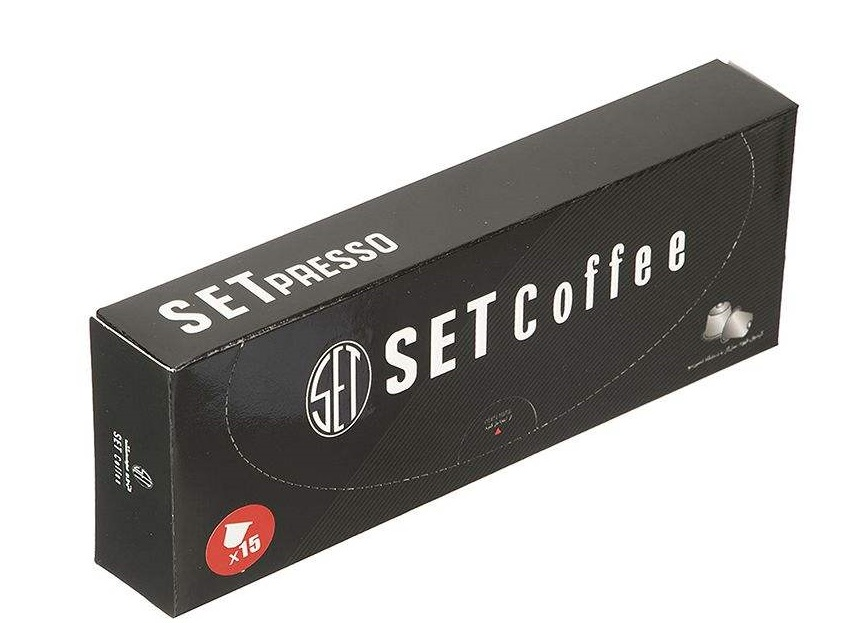 قهوه کپسولی SETpresso سازگار با دستگاه نسپرسو ( BLACK )