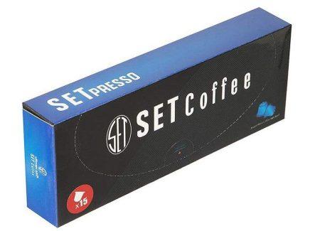 قهوه کپسولی SETpresso سازگار با دستگاه نسپرسو ( BLUE )