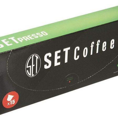 قهوه کپسولی SETpresso سازگار با دستگاه نسپرسو ( GREEN )